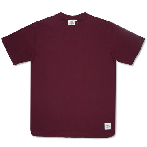 Ethik, French Terry Tee, Burgundy