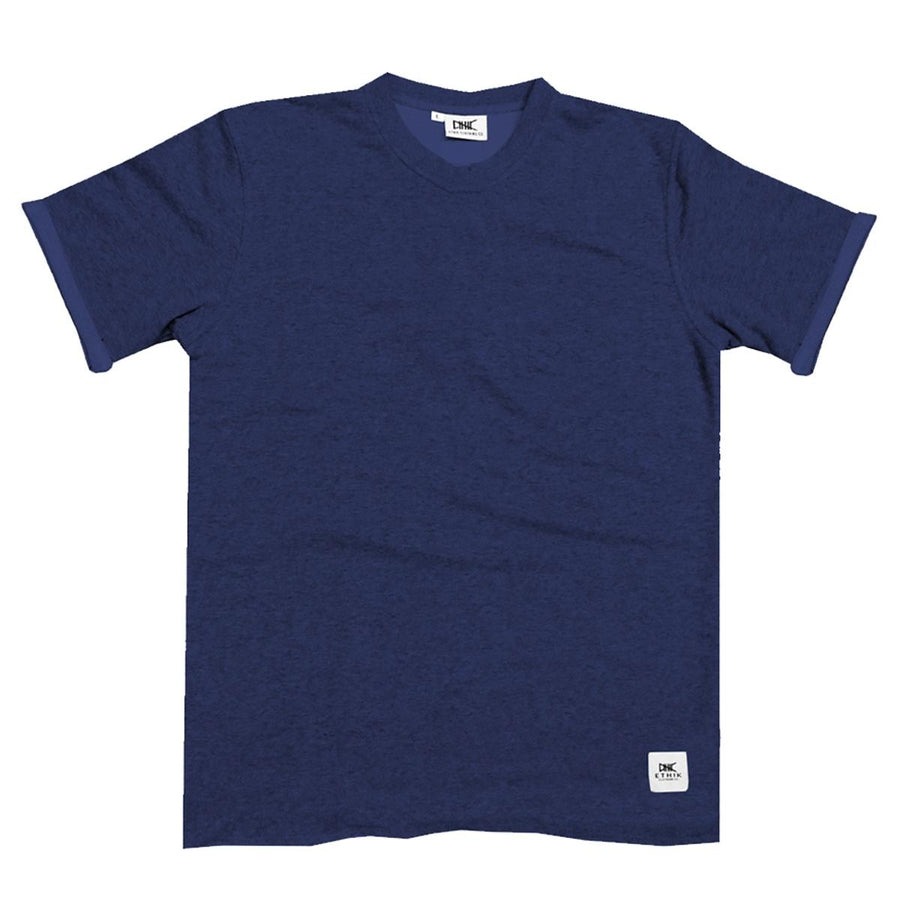 Ethik, French Terry Tee, Navy