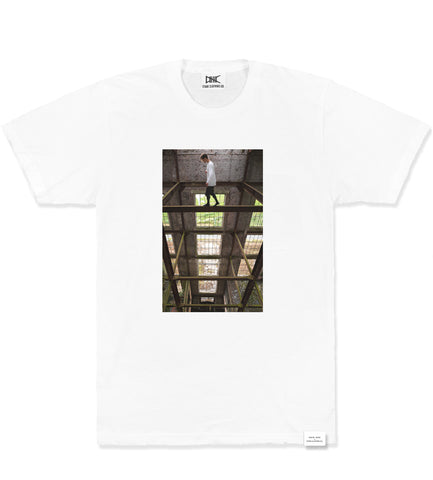 Scare Yourself, Austin Augie Signature Tee, White