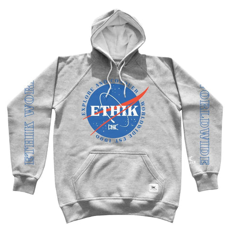 Ethik, Space Program Hoodie, Grey