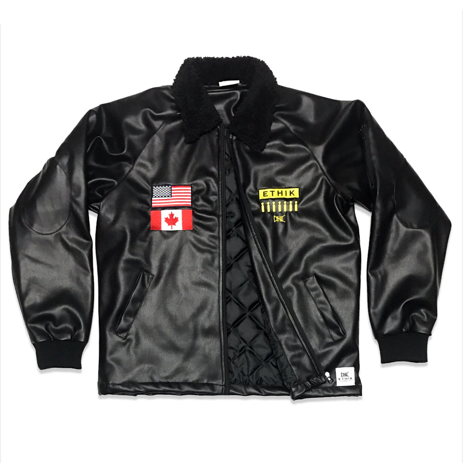 Bomb Squad Jacket, Black