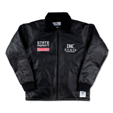 State Property x Ethik, Bomb Squad Jacket, Leather