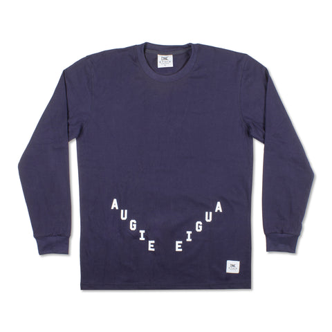 Augie x Ethik V Long Sleeve, Navy