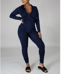 PLUS- Walk It Out Set Navy