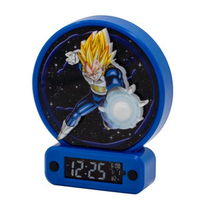 Dragon Ball Z Vegeta light-up alarm clock