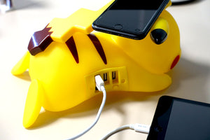 Pikachu Induction Wireless Charger with AC adaptor US plug