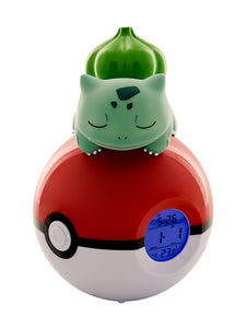 Bulbasaur Poké ball Light-up figurine Alarm Clock