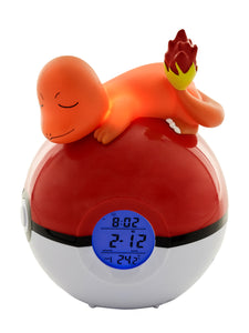 Charmander Light-up 3D figurine FM Alarm Clock