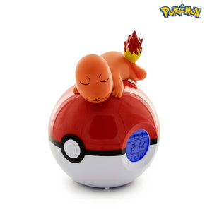 tknusa - Charmander Luminous Alarm Clock with Radio FM - Alarm Clock