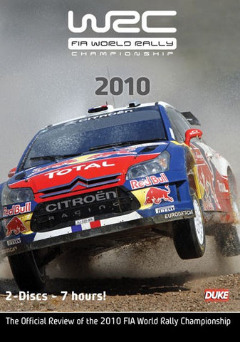 DVD - WRC Official Review 2010