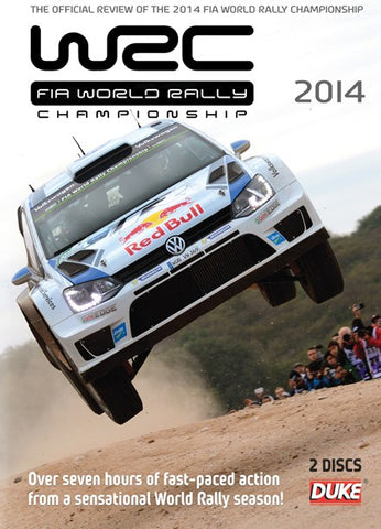 2014 WRC Full Season Review DVD