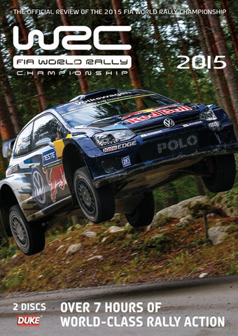 DVD - WRC Official Review 2015