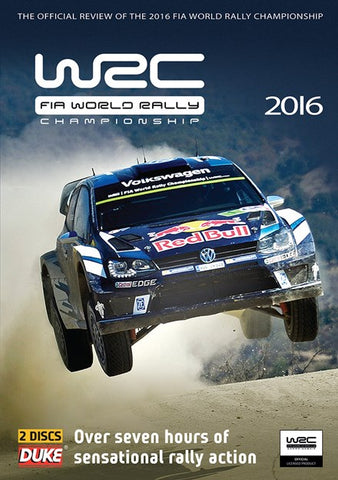 2016 WRC Full Season Review DVD