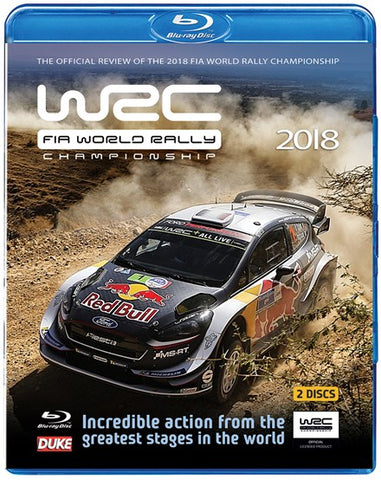 Blu-ray 2018 WRC Full Season Review