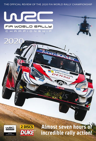 WRC Official Review 2020 DVD