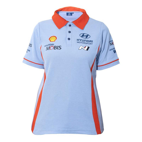 2021 Hyundai Motorsport Team Ladies Polo Shirt