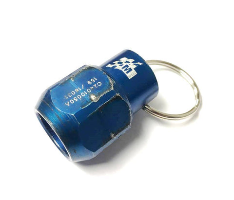M-Sport Genuine Wheel Nut Keyring