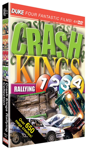 The Complete Crash Kings Rallying (4 DVD Disc Set) DVD