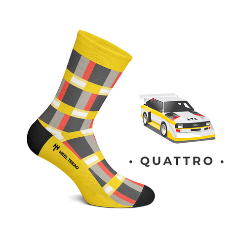 Quattro Style Socks by Heeltread- One Size