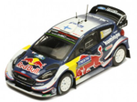Ford Fiesta WRC- Suninen- Rally Finland 2018- 6th- in 1/43 Scale- by IXO
