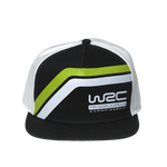 WRC Official Flat Peak Stripe Cap