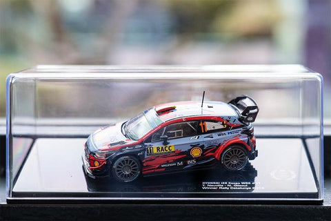 Hyundai- Neuville- Catalunya 2019- Winner-1/43 Scale- by Hyundai