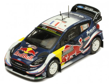 Ford Fiesta WRC- Ogier- Rally Australia 2018- 5th- in 1/43 Scale- by IXO- RAM690