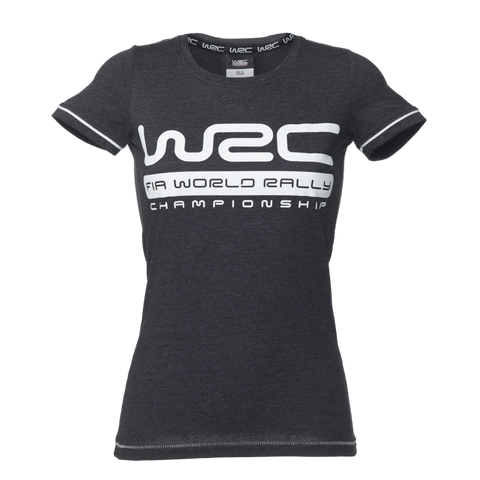 WRC Ladies Dark Grey Logo T-Shirt