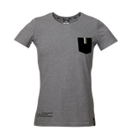 WRC Fashion Ladies Slim-fit T-Shirt with Pocket