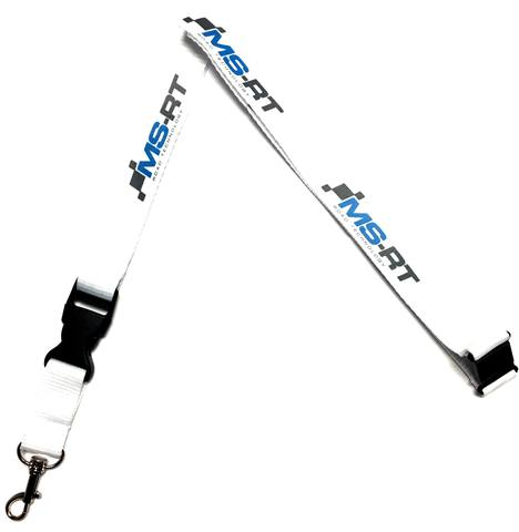 M Sport/ Ford WRC Lanyard/ Pass Holder in White