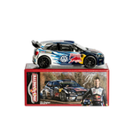 Volkswagen Polo R WRC- Ogier- in 1/64 Scale- by Majorette