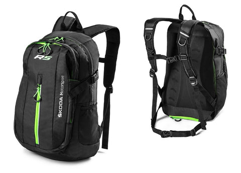 Škoda Motorsport R5 Black Backpack/Rucksack