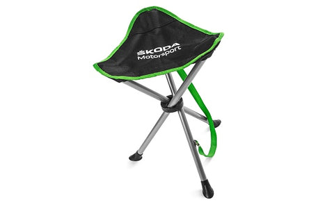 Škoda Motorsport R5 Tripod Folding Stool/Chair/Seat