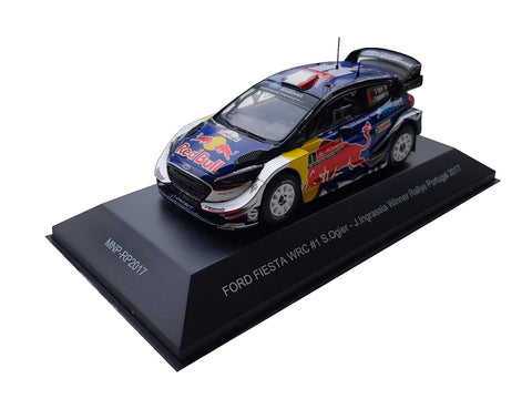 Ford Fiesta WRC- Ogier- Rally Portugal 2017- Winner- 1/43 Scale- by Minipartes/IXO