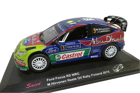 Ford Focus WRC- M.Hirvonen- Rally Finland 2010-Retired- 1/32 Scale- by Saico