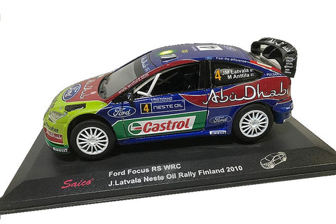 Ford Focus WRC- JM Latvala- Rally Finland 2010- Winner- 1/32 Scale- by Saico