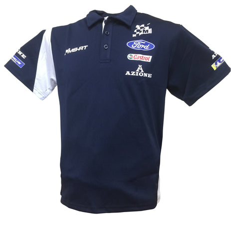 M Sport/Ford WRC Classic Breathable Team Polo Shirt