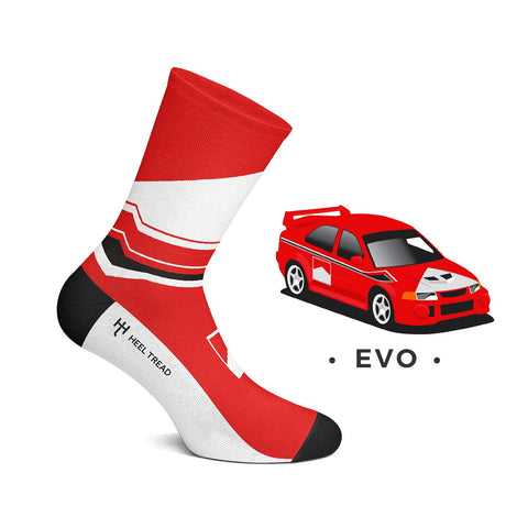 ´Evo´ Style Socks by Heeltread- One Size