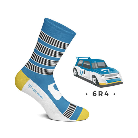 Metro 6R4 Style Socks by Heeltread- One Size