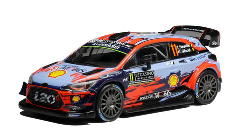 Hyundai WRC- T. Neuville- Rally Monte Carlo 2019- 2nd- 1/43 Scale- by IXO