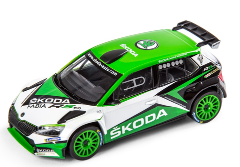 Škoda FABIA R5- Show Car 2019- in 1/43 Scale- by Škoda