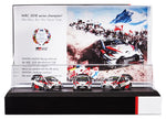 2018 Toyota branded - made by Spark 2018 Manufacturer Championship Set 1/43