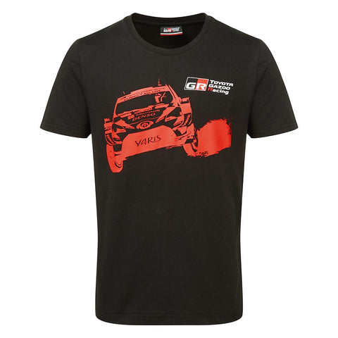 Toyota Gazoo Racing WRT Black Car T-Shirt