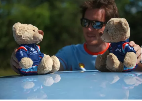 2021 Hyundai Motorsport Plush Teddy Bear