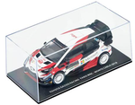 Toyota Yaris WRC- Show Car- Monte Carlo 2018- in 1/38 Scale by Toyota
