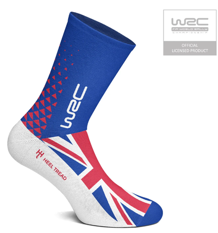 WRC British Socks by Heeltread- One Size