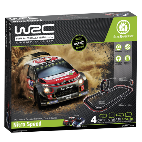 WRC Slot Tarmac Set- Nitro Speed