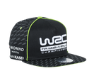 WRC Black Flat peak with Green