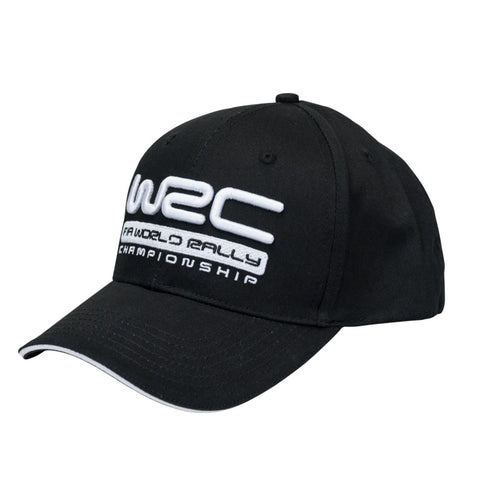 WRC Black Sandwich Peak Cap
