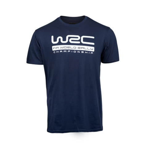 WRC Navy Big Logo T-Shirt